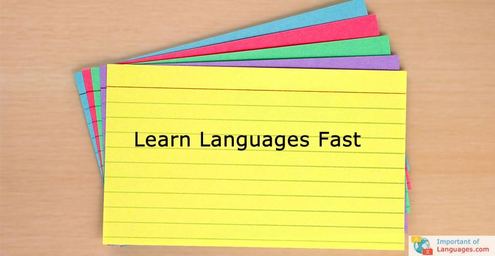 flashcards-languages